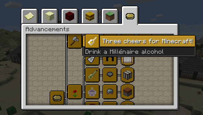 Millénaire - Advancements